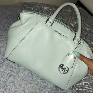 Michael Kors Celadon Purse with Satchel